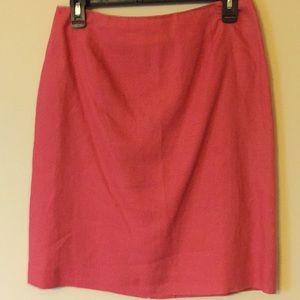 Pencil skirt 8P Rafaela linen